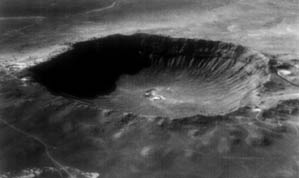 Barringer crater, Arizona
